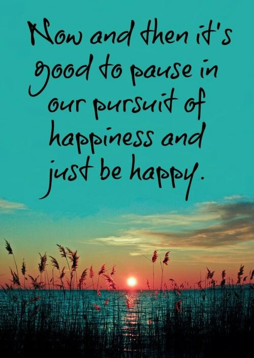 Just Be Happy! #Quote #Inspiration #Motivation #Happy