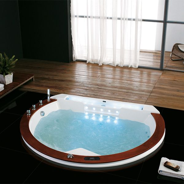 les 25 meilleures id es de la cat gorie baignoire ronde sur pinterest baignoire 2 places sdb. Black Bedroom Furniture Sets. Home Design Ideas
