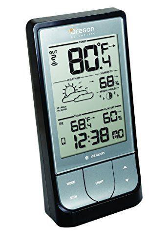 Estación meteorológica BAR218HG WeatheratHome inalámbrico con termómetro