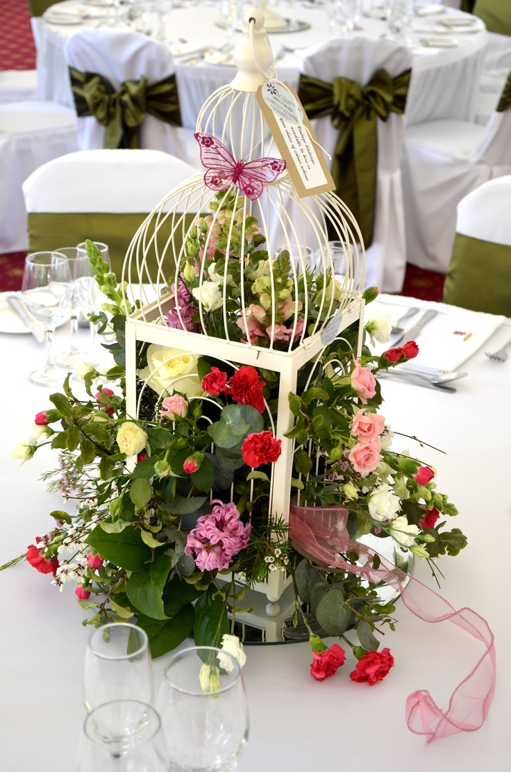 Bird Cage Flowers Www Sjostyphotography Co Uk Wedding