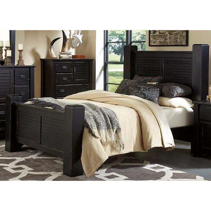 Best Black King Size Bed Trestlewood Bedroom Sets Queen Bed 400 x 300