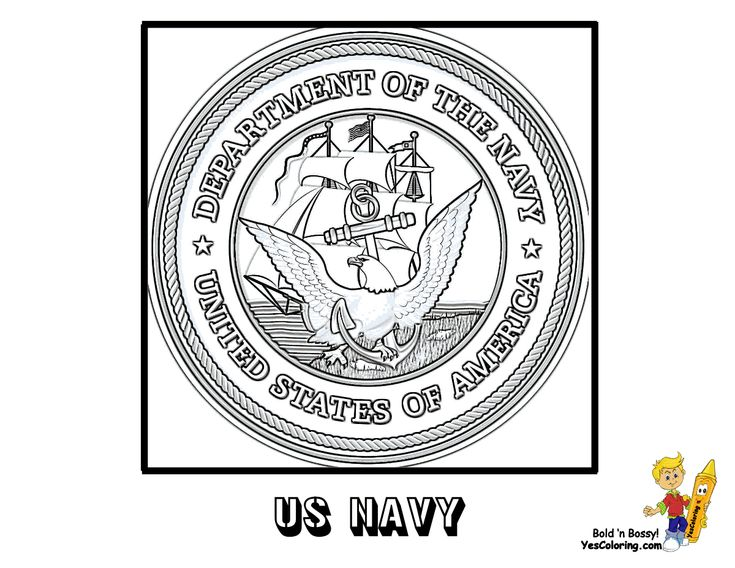 Coloring Buddy Mike Recommends:  US Navy Flag Coloring Page At YesColoring...Slide Crayon!