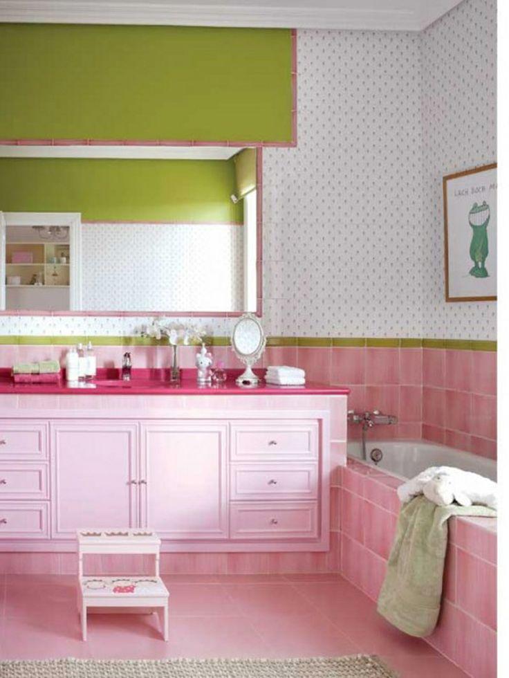 Die besten 25+ rosa Waschtisch Ideen auf Pinterest antike Make - weisse hochglanzfliesen bad