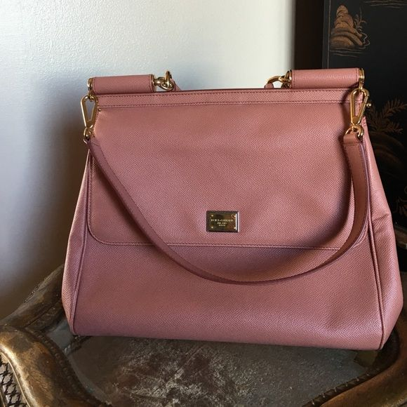 Dolce and Gabbana handbag Beautiful dusty pink D&G Handbag  2 cellphone compartments inside and zip pocket Dolce & Gabbana Bags