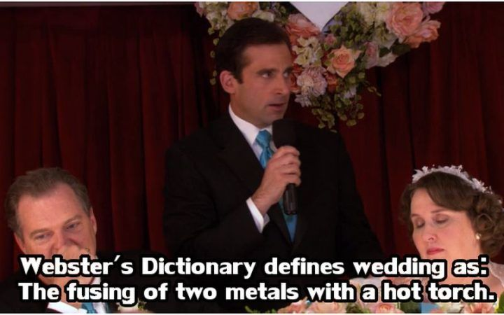 30 Michael Scott Quotes With Important Life Lessons Wedding Speech Michael Scott Quotes Funny Wedding Speeches