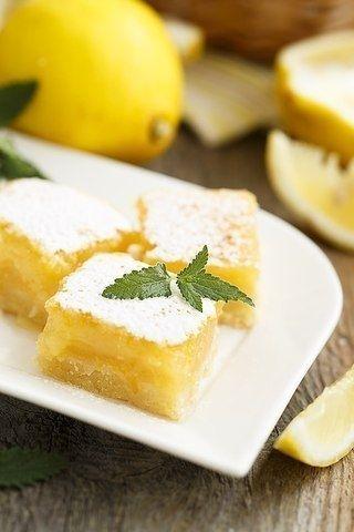 Фото к рецепту: Лимонные квадратики.