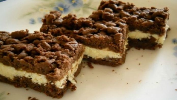Jednoduchý luxusní tvarohovo-vanilkový koláč z dostupných surovin! | Milujeme recepty