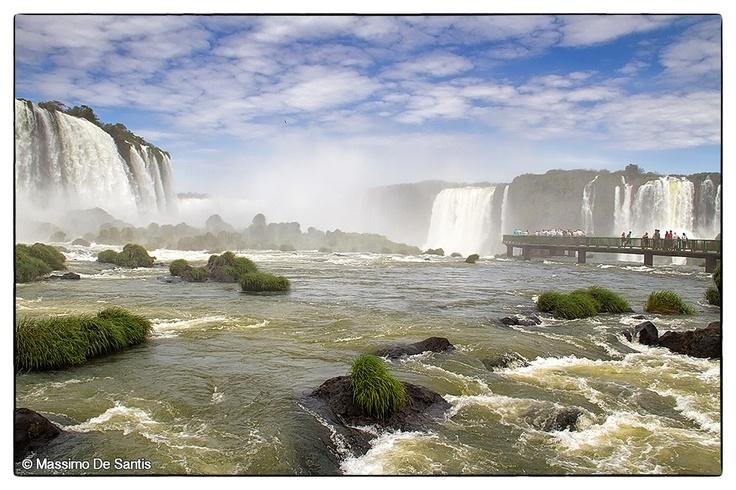 Cascate dell'Iguazú - Iguazu Falls - (Brazil & Argentina) - Cataratas do Iguaçu