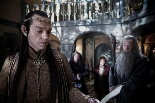 Lord Elrond the hobbit