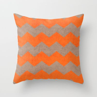 20 best images about Dark Brown Tan and Orange living room on Pinterest Throw pillows, Orange ...
