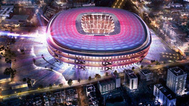 Así será el nuevo Camp Nou del FC Barcelona