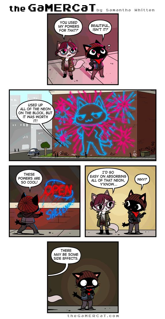 the GaMERCaT :: Neon Vibes | Tapastic Comics - image 1
