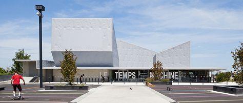 Le Temps Machine, centro juvenil en Joué-les-Tours, Francia