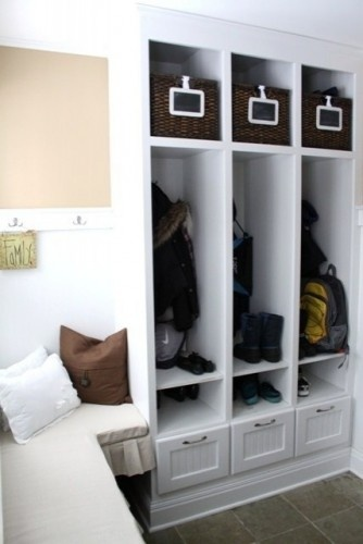 17 Best images about Hidden ENTRYWAY STORAGE