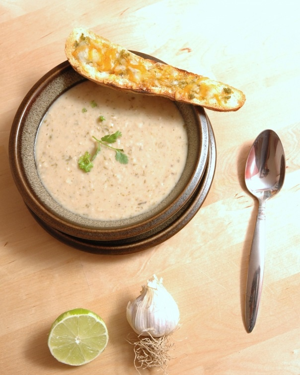 Cilantro White Bean Lime Soup