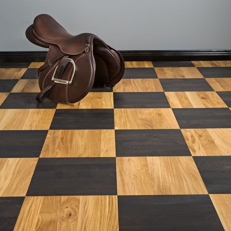 Square parquet from Bjelin