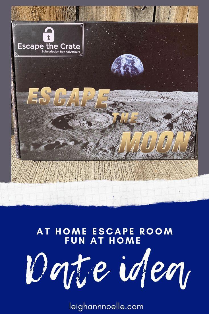 Fun At Home Date Idea Escape Room In A Box Leighann Noelle In 2020 Room Box Escape Room At Home Date
