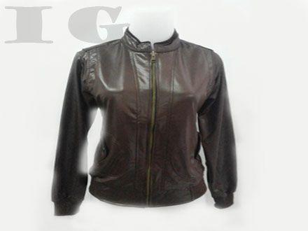 Nasional - Diskon - Jaket Kulit Untuk Wanita Aneka Warna Hanya Rp 95.000 /pcs