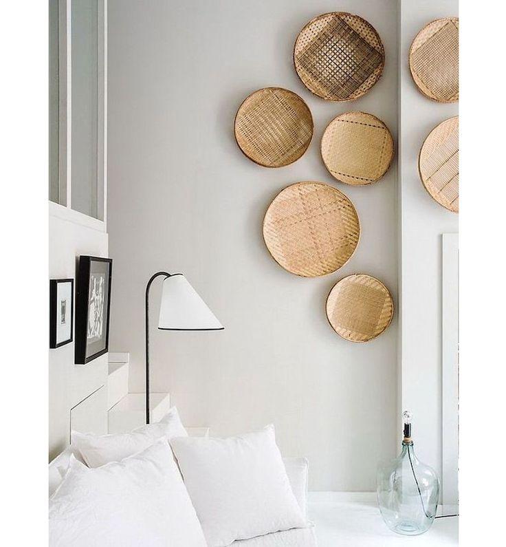 Doe eens gek: hang een mandje aan je muur