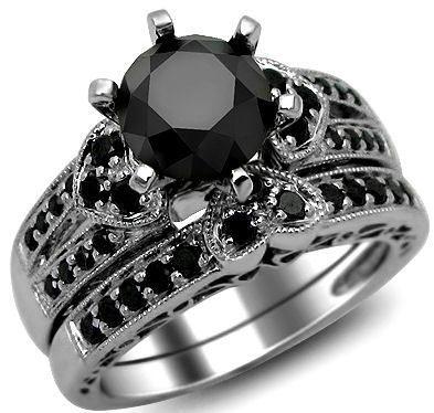 black gold wedding ring sets 29 best images about dracula wedding on 1852