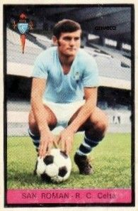 SAN ROMAN (R.C. Celta - 1973)