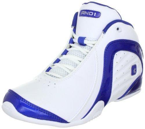 Oferta: 56€ Dto: -36%. Comprar Ofertas de AND1 ROCKET 2.0 MID Rocket 2.0 Mid - Zapatillas de baloncesto de cuero unisex, color blanco, talla 44.5 barato. ¡Mira las ofertas!