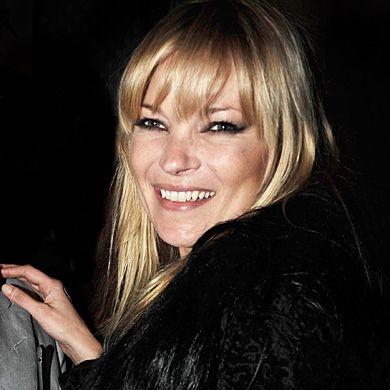 Kate Moss Fringe Hair Trend