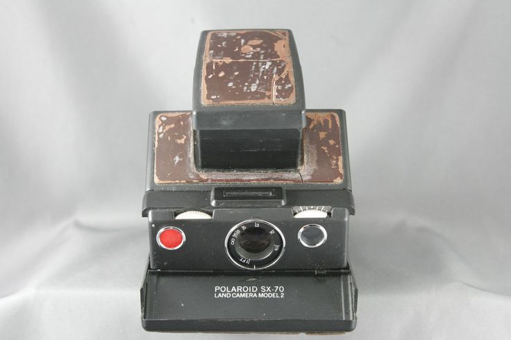 Polaroid Sx 70 Model 2 Instant Film Camera Tested and Working