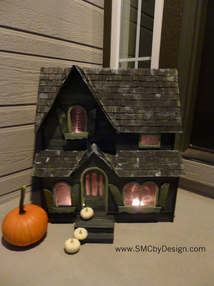 turning your cute little dollhouse into a haunted house