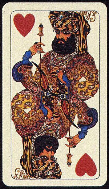 Playing card by Umberto Brunelleschi. - Итальянские игральные карты 1910 года. Обсуждение на LiveInternet - Российский Сервис Онлайн-Дневников