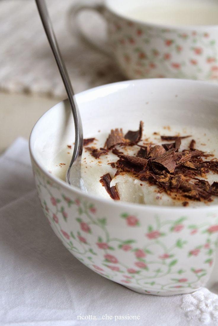 ricotta...che passione: Budino di pere e yogurt in tazza