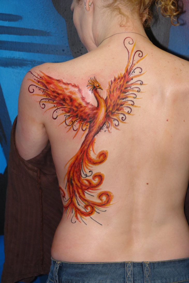 114 best tattoo ideas images on pinterest insects for Phoenix neck tattoo