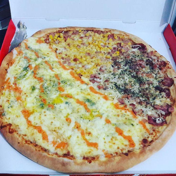 Zonatto pizzaria - pizza super família  refri 4990 #pizza #delivery #tele