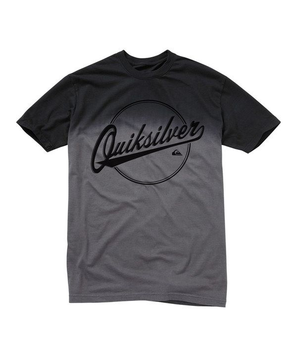 This Quiksilver Charcoal Fade 'Quicksilver' Tee - Boys by Quiksilver is  perfect! #