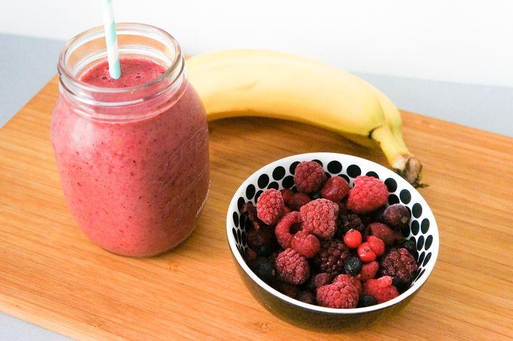 Smoothie Banane / Fruits Rouges