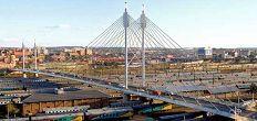 The Nelson Mandela Bridge – a Johannesburg landmark