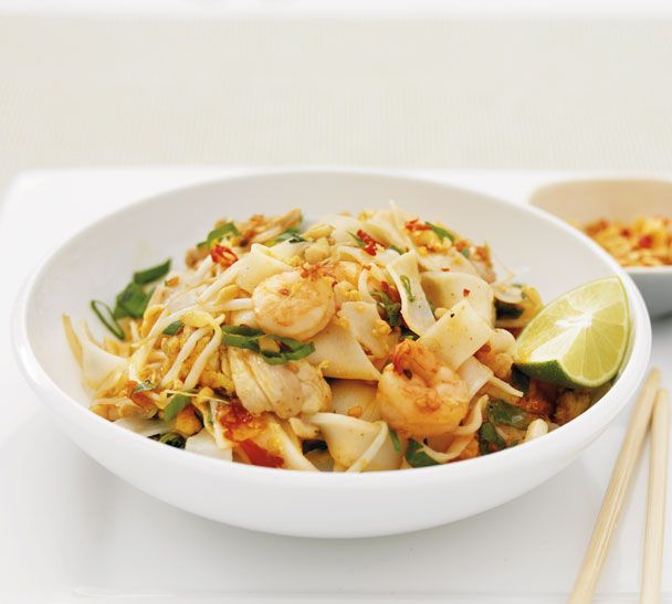 Pad Thai Noodles - Quick and Easy Recipes, Organic Food Recipes, New Zealand Cooking Recipes - Annabel Langbein