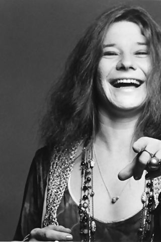 A laugh with the late great Janis Joplin.