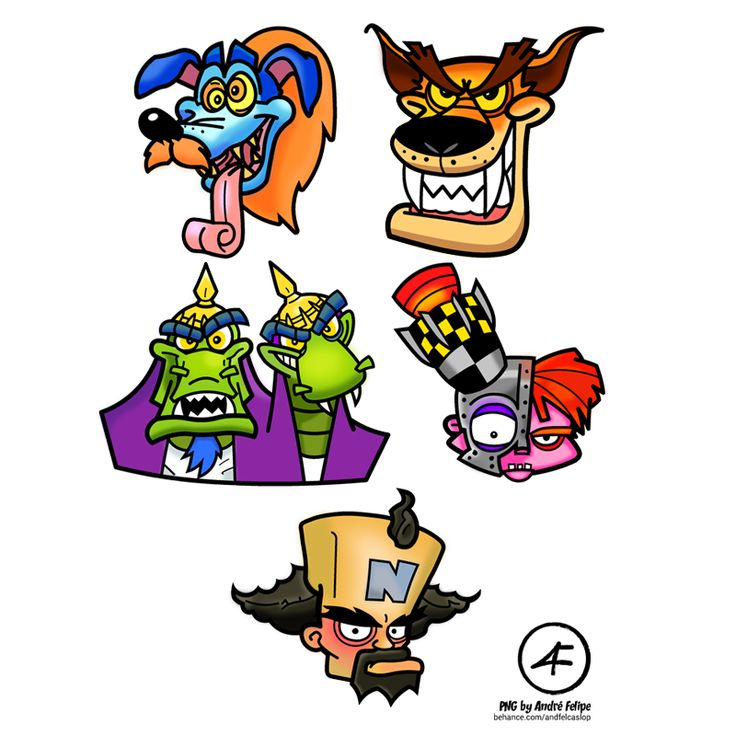 16++ Crash bandicoot 4 coloring pages information