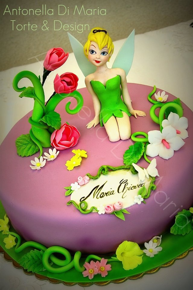 192 best Cake Design Kids Tinkerbell and fairys images on