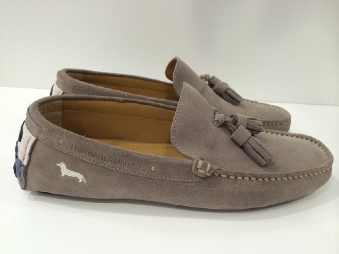 Sapatos de camurça  HARMONT & BLAINE  CAPA COM CENTRAL  SIDE LOGO.
