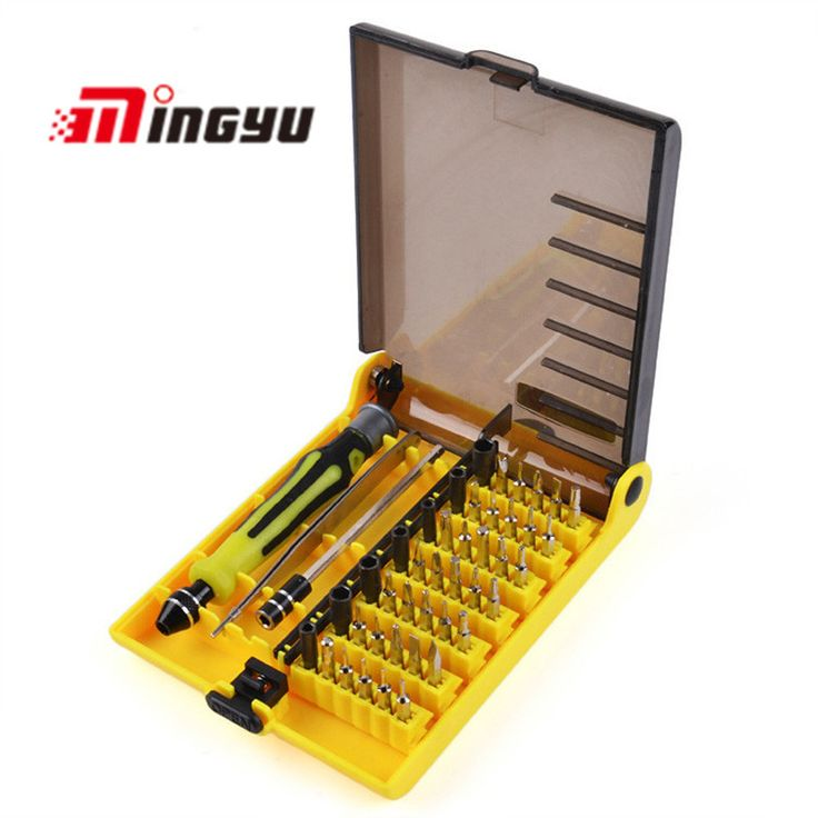 45PCS Screwdriver Tool Set Precision Multi-function Electron Toys Laptop Computer Mobile Repair Tools Free Shipping