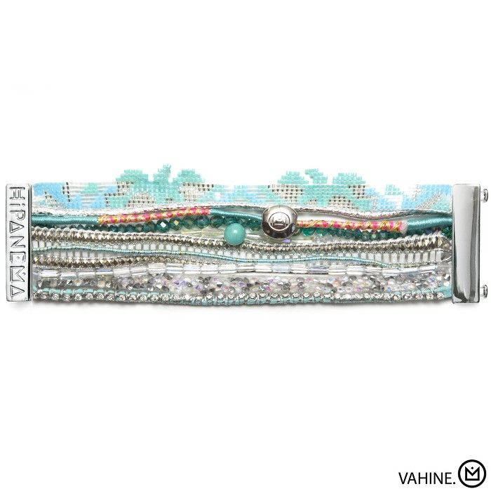 Bracelet Vahiné Hipanema collection été 2015 - à retrouver sur www.lilishopping.com/fr/ - #bracelet #manchette #cuff #hipanema #summer