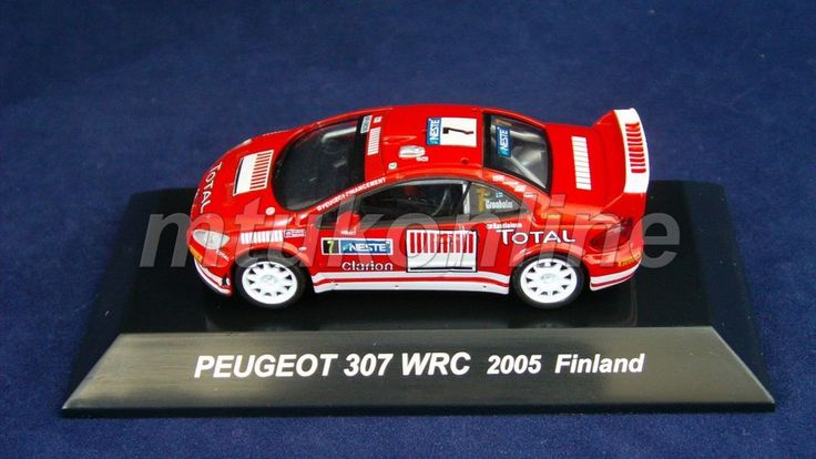 CM S RALLY CAR COLLECTION | SS8 | PEUGEOT 307 WRC 2005 FINLAND | 1/64 | TOTAL