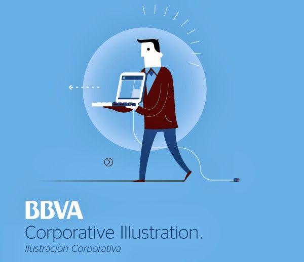Corporative illustration