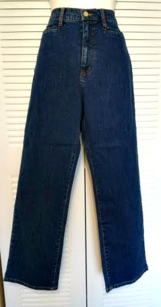 French Dressing Jeans 10P Brand New Jeans No tags Blue Jeans Cotton/Spandex #FrenchDressing #StraightLeg