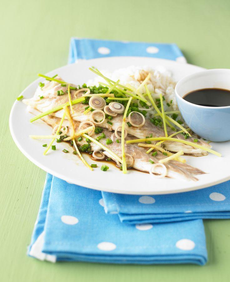 Fischfilet mit Ingwer und Zitronengras   http://eatsmarter.de/rezepte/fischfilet-mit-ingwer-und-zitronengras