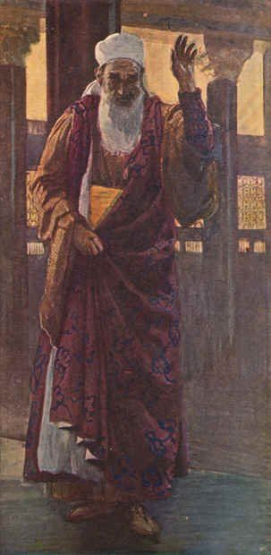 The Prophet Isaiah ~ James Tissot - c1888