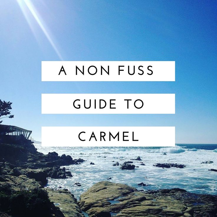 A non fuss quide to places to see and things to do in Carmel-By-The-Sea California. California. Carmel. Carmel-by-the-sea. Big Sur. Travel. America. Relocation. Ten things to do in Carmel.