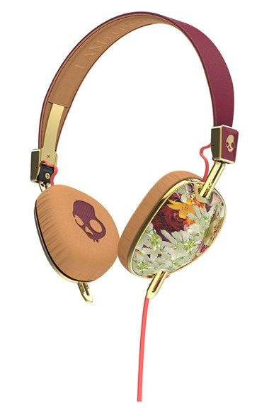 Gosh I love these so much! - Skullcandy 'Knockout Floral' Headphones available at #Nordstrom